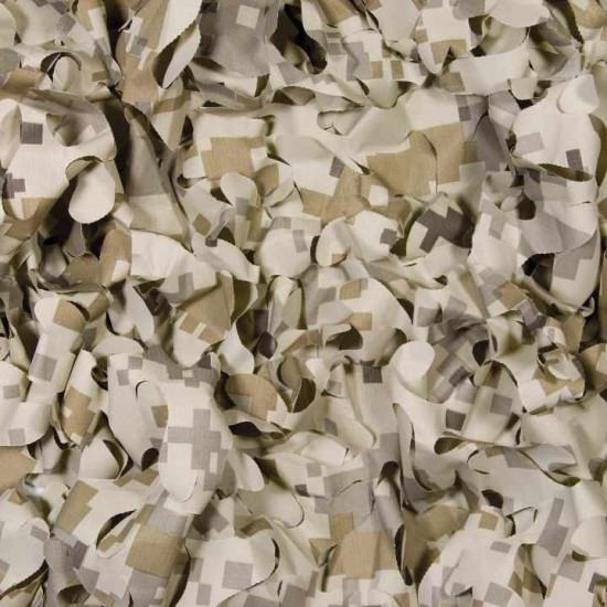 Filet de camouflage 3 x 1.40m sable