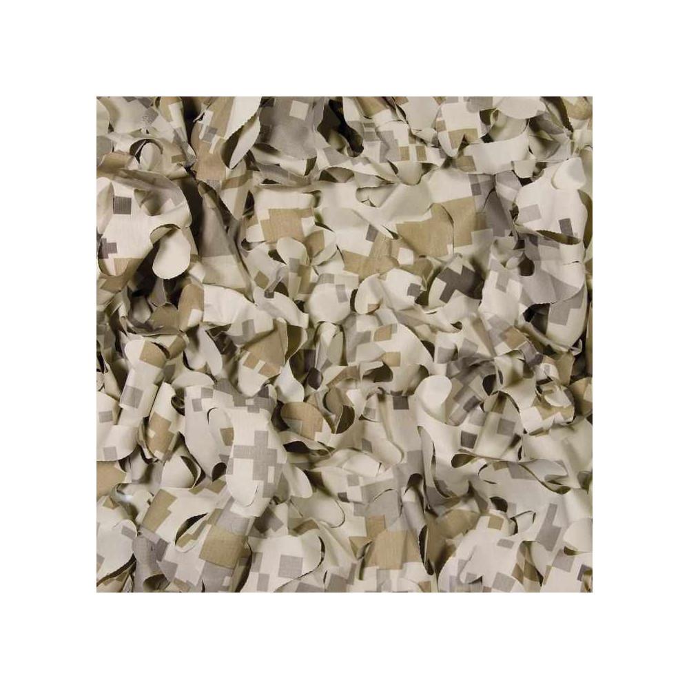 Filet de camouflage sable 3 x 1.40m
