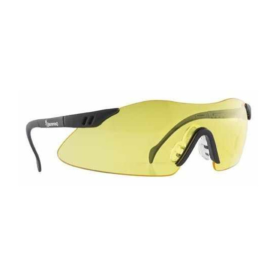 Lunettes de tir jaune Browning Claybuster