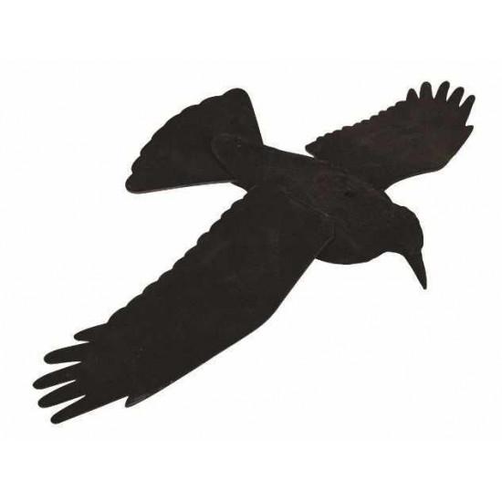 Forme de corbeau à ailes ouvertes