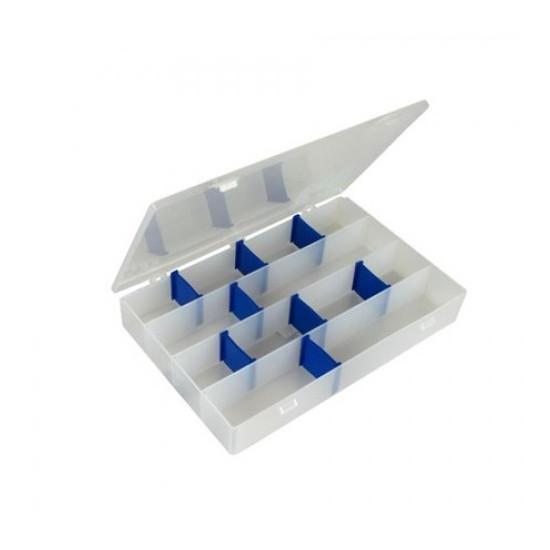 Boite à compartiments pour bagues et épingles