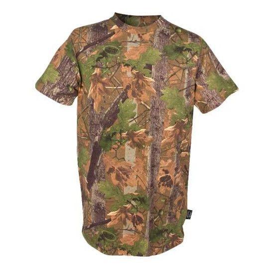 Tee-shirt camo bois