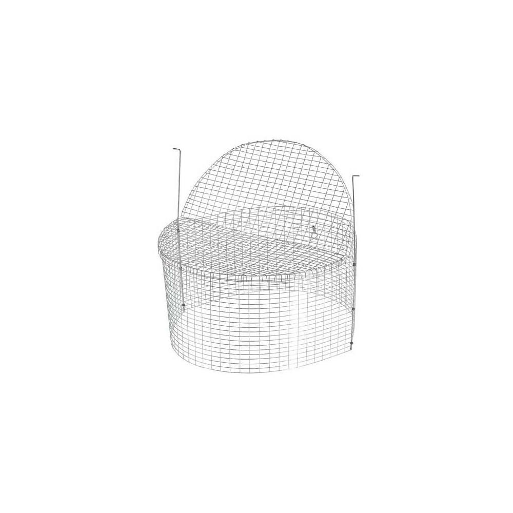Cage de croissance pour canetons ronde