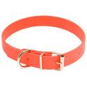 Collier pour chien biothane orange
