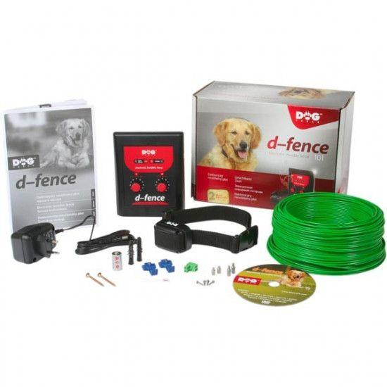 Pack clôture anti-fugue D-Fence Dog Trace