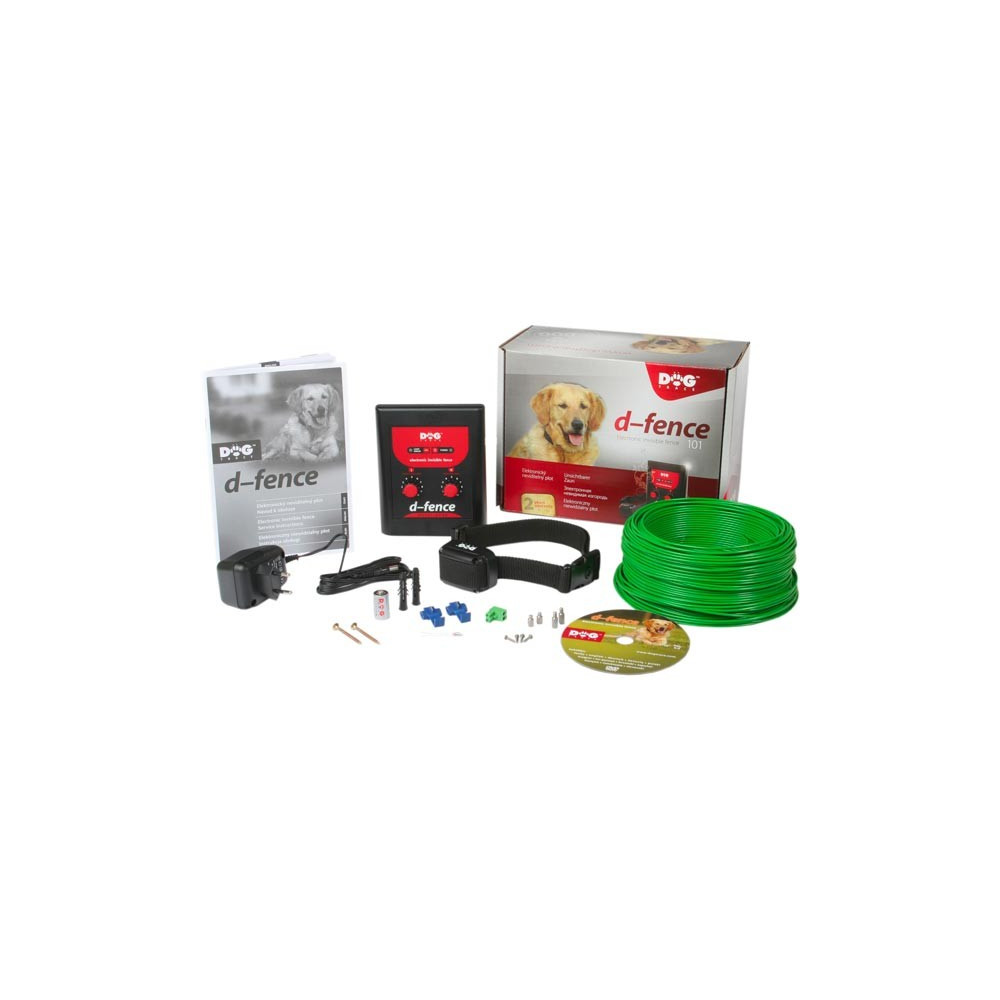 Pack clôture anti-fugue D-Fence Dog Trace