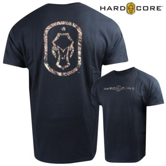 Tee-Shirt Hardcore Dog Tag noir