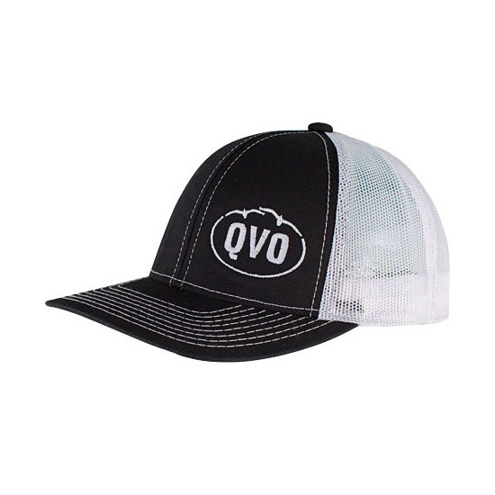 Casquette noire QVO