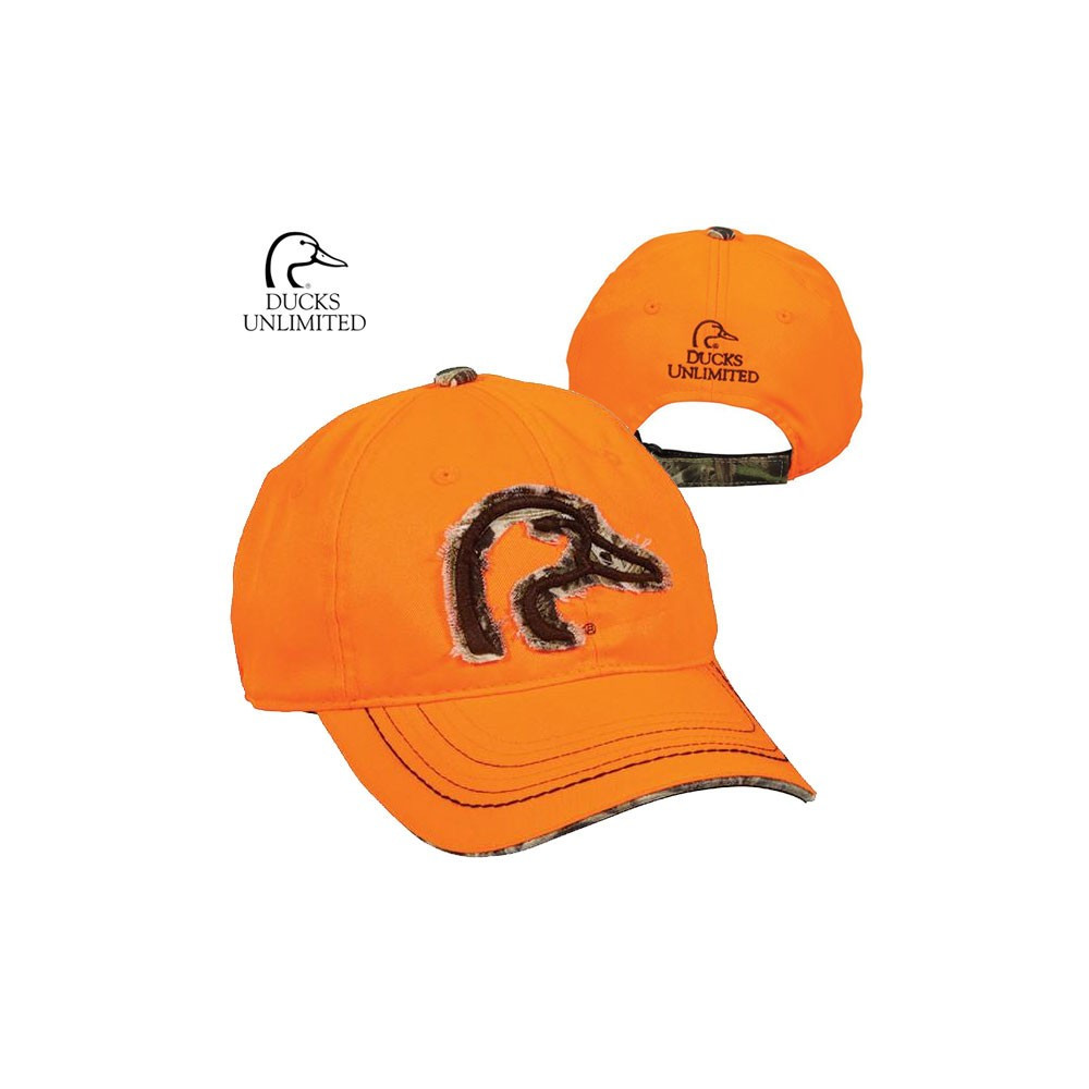 Casquette Ducks Unlimited Orange