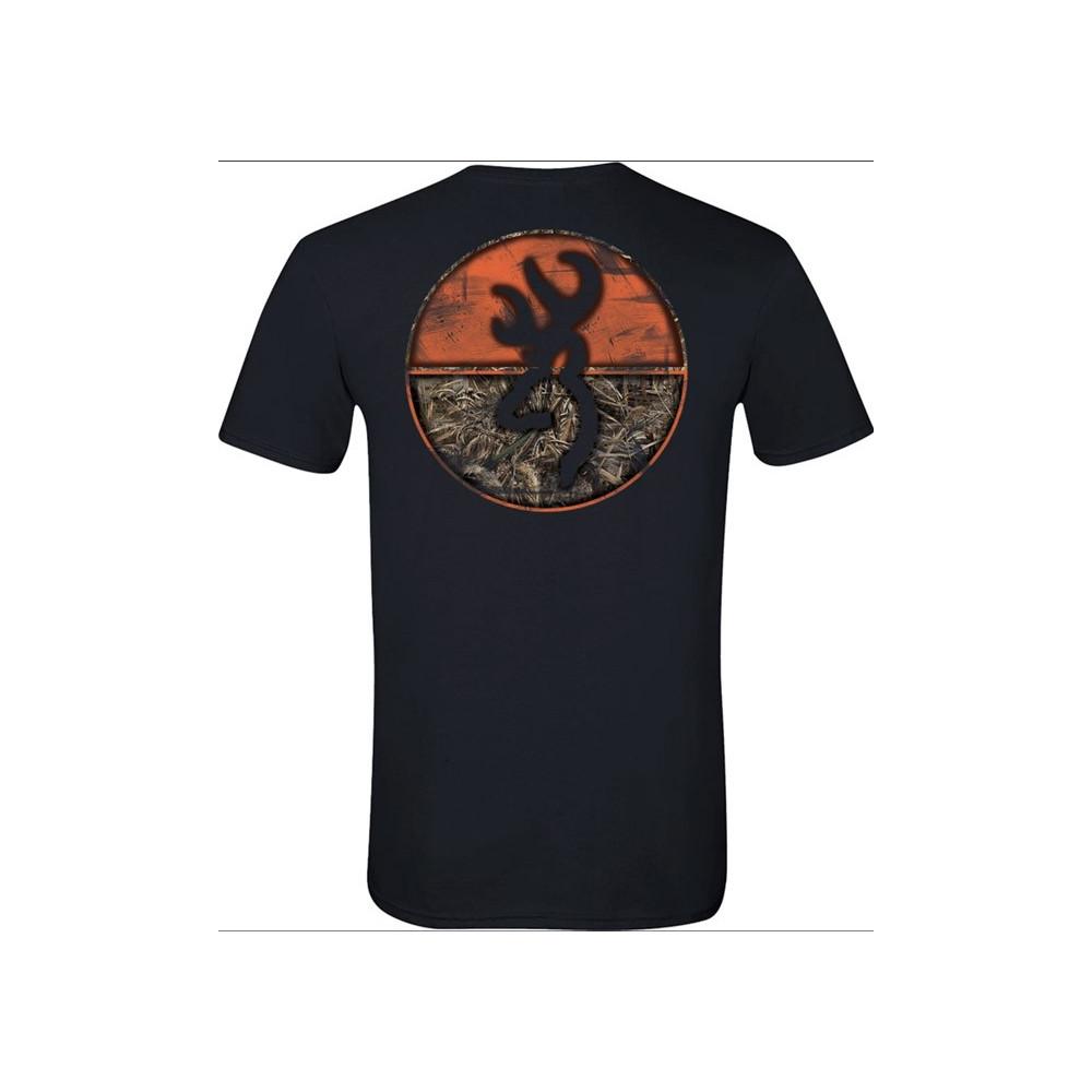 Tee-shirt Browning Buckmark Crew Max5
