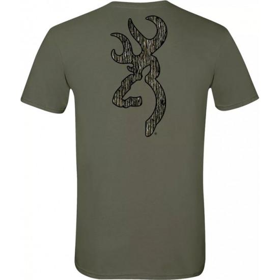 Tee-shirt Browning Buckmark Kaki