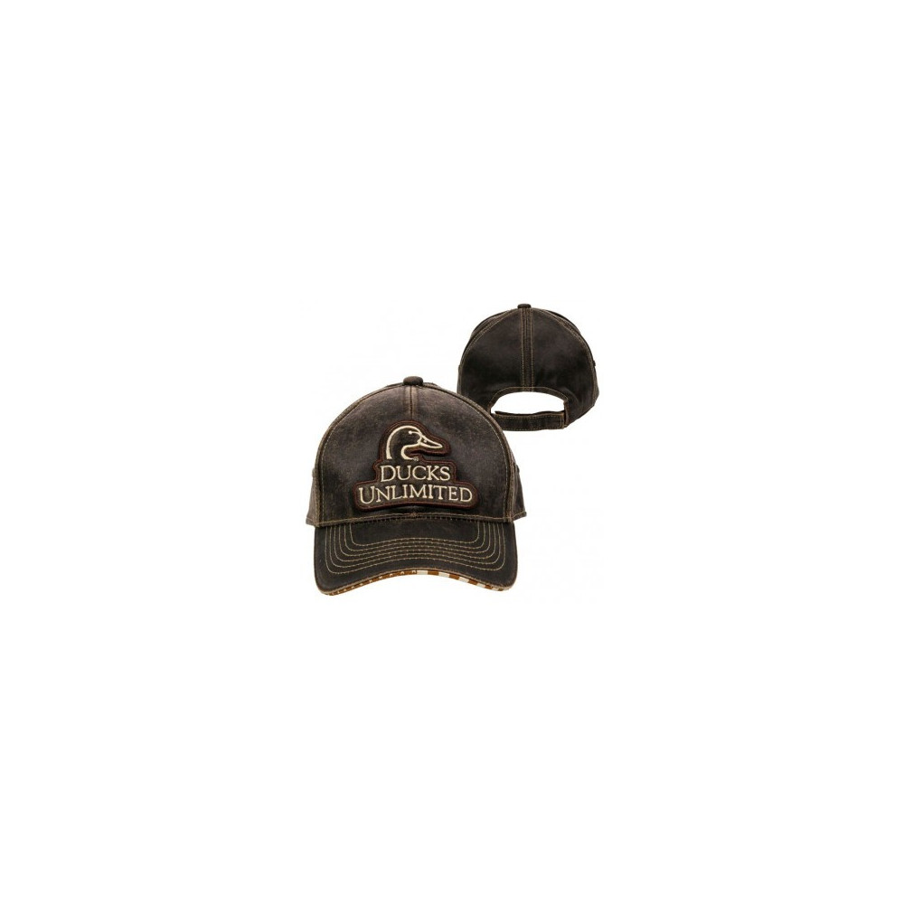 Casquette Ducks Unlimited Dark Brown