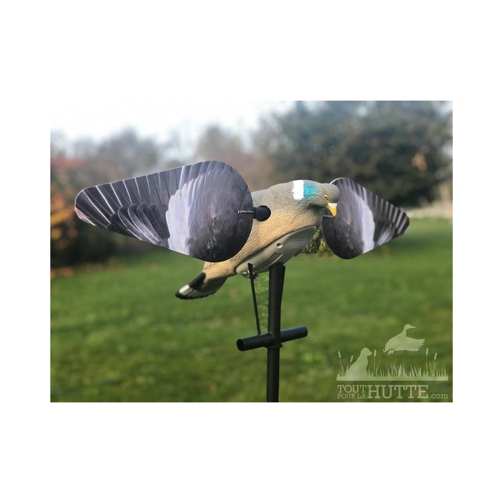 Forme de pigeon HD à ailes tournantes Lucky Duck