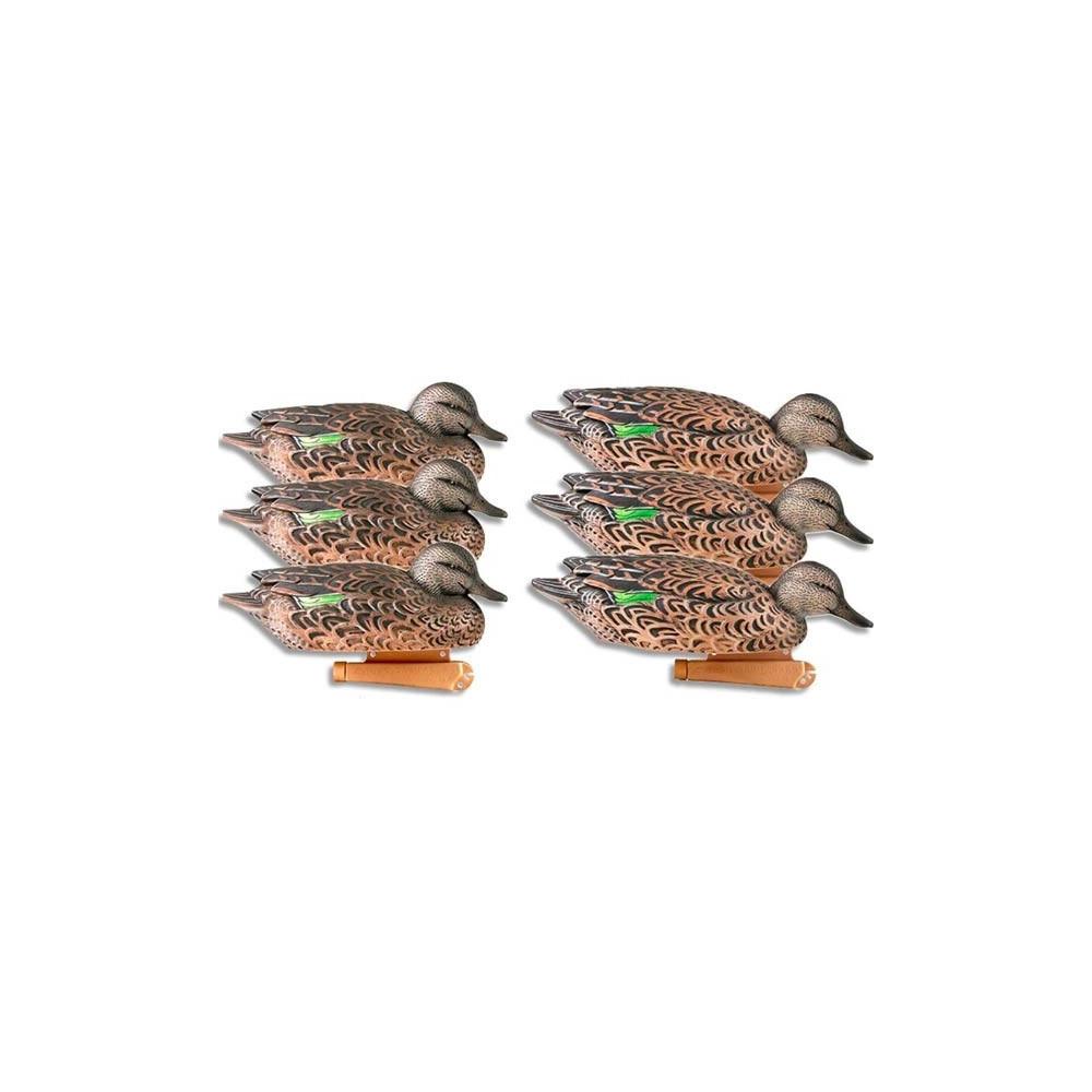 Formes de sarcelle femelle GHG x6