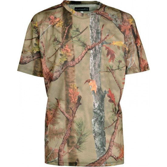 Tee-shirt camo Forest Palombe Percussion