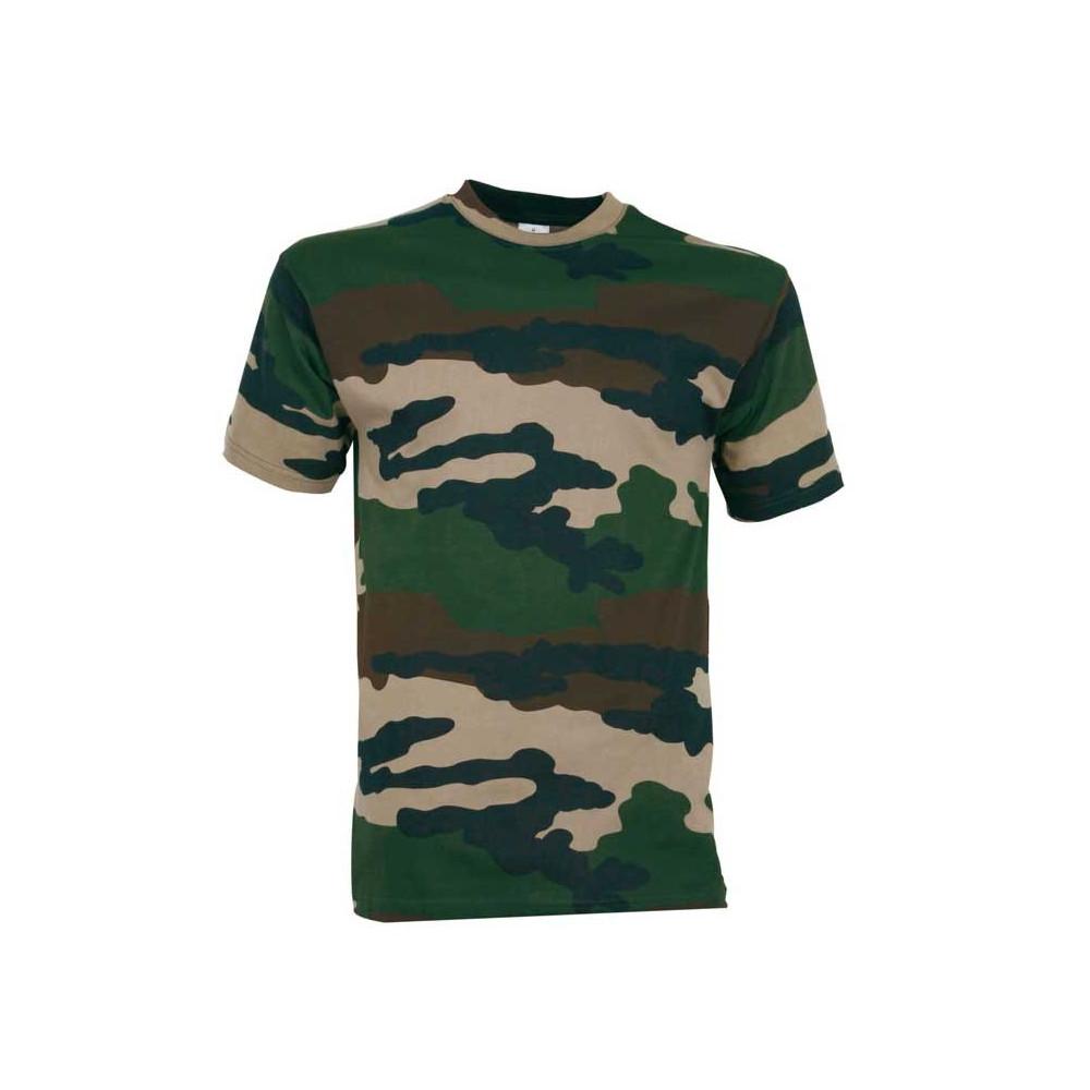 Tee-shirt pour enfant camo Percussion