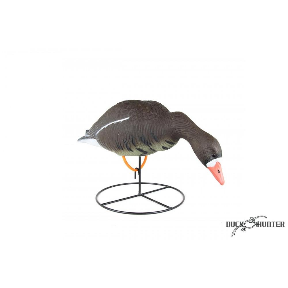 Forme d'oie rieuse sur pattes mangeuse Duck Hunter