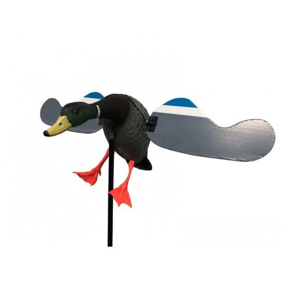 Canard à ailes tournantes motorisées Duck Hunter batterie