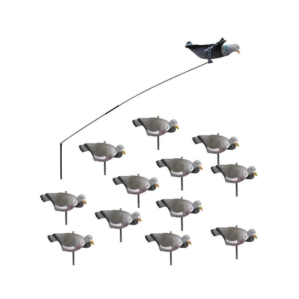 Pack débutant du chasseur de pigeons