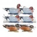 Formes de siffleur GHG pack mixte x6