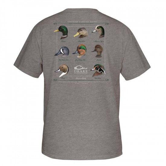 Tee-shirt Duck Collection Drake Waterfowl