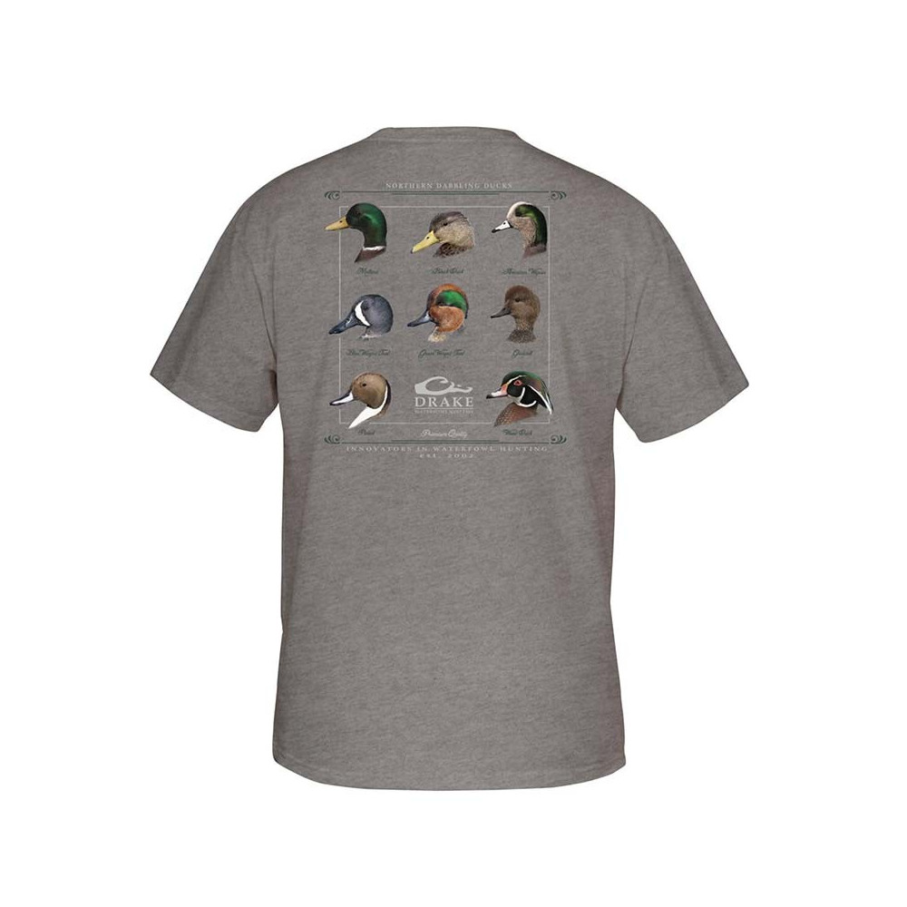 Tee-shirt Duck Collection Drake Waterfowl