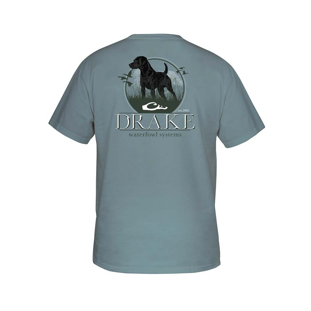 Tee-shirt Standing Lab Drake Waterfowl