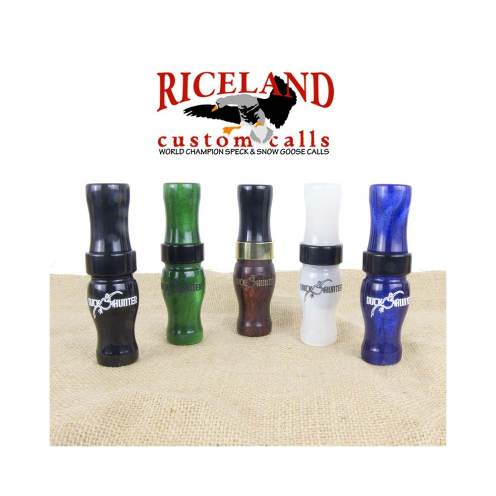 Appeau oie rieuse acrylique Riceland Duck Hunter
