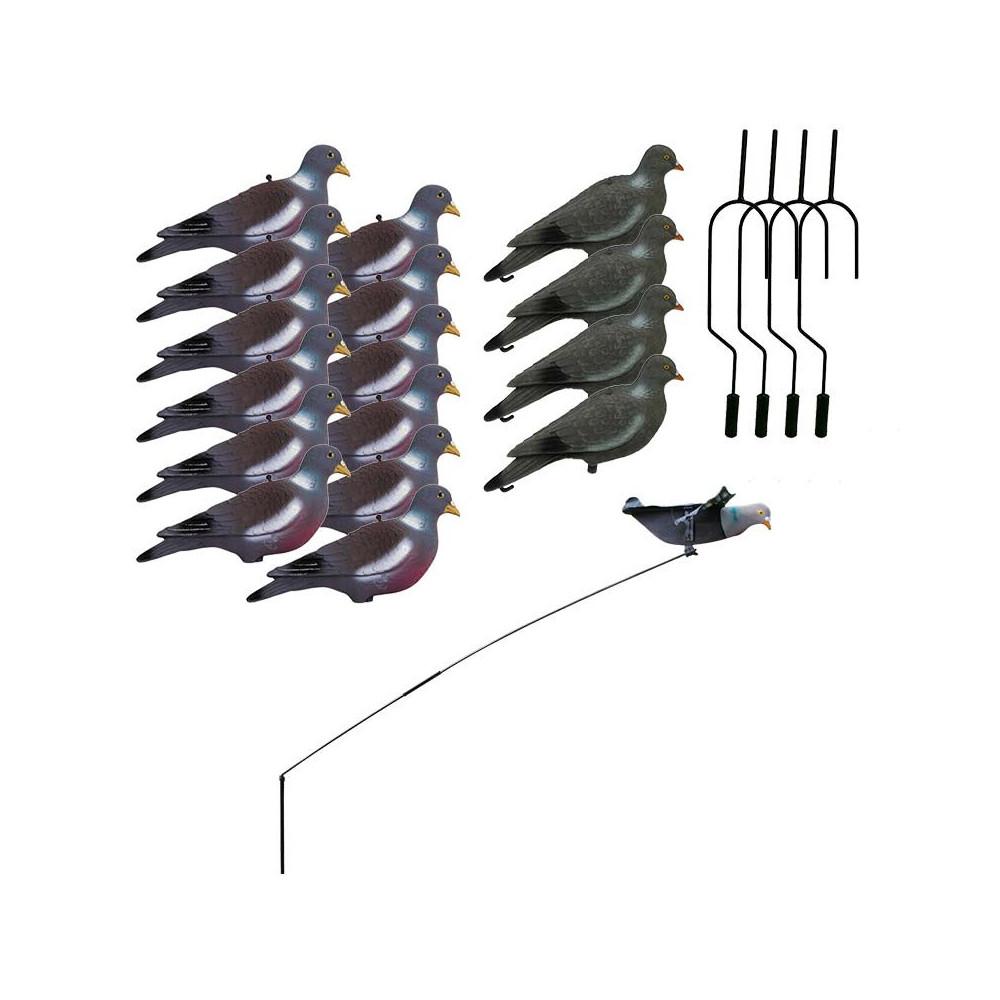 Pack expert du chasseur de pigeons