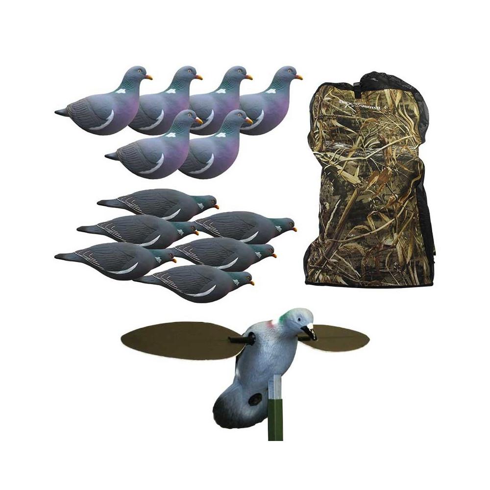 Pack ultimate du chasseur de pigeons au sol