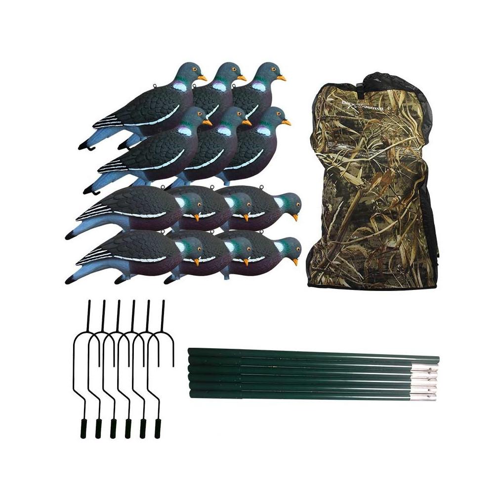 Pack ultimate du chasseur de pigeons au bois