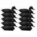 Forme de canard noire x10