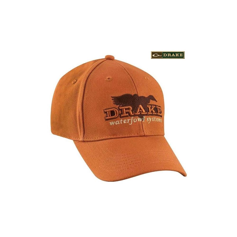 Casquette Drake Duck Canva Orange