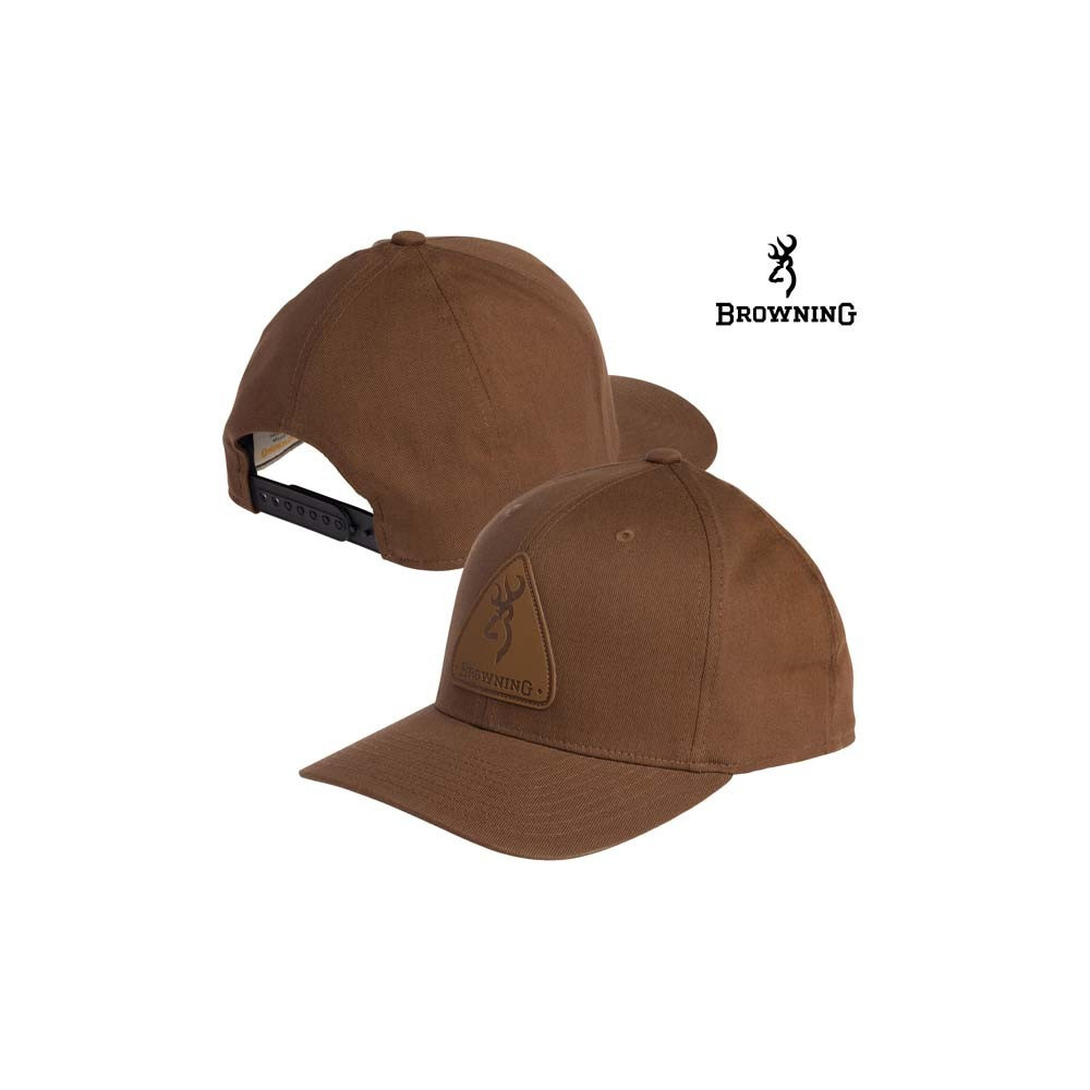 Casquette Browning Leather