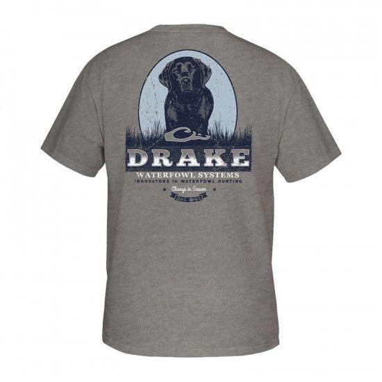 Tee-shirt Black Lab Drake Waterfowl