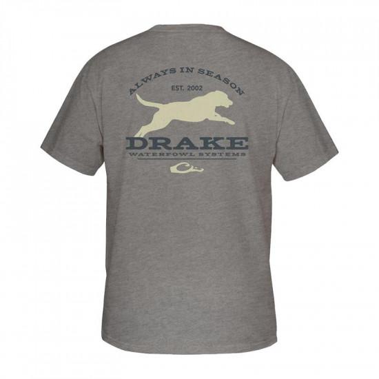 Tee-shirt Runing Lab Drake Waterfowl
