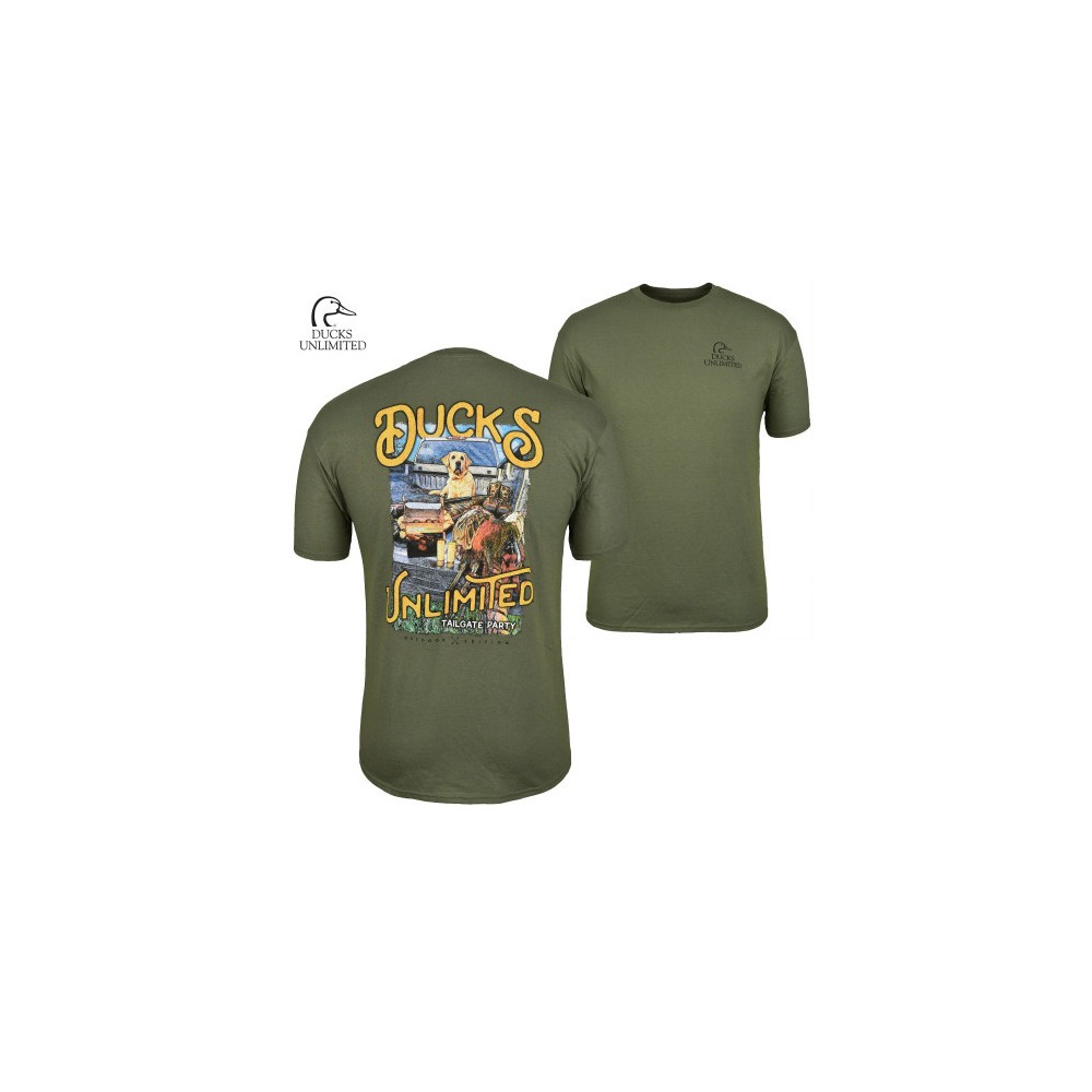 Tee-shirt Ducks Unlimited Tailgate