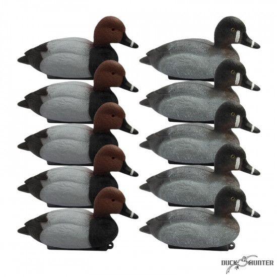 Formes de milouin Duck Hunter x10