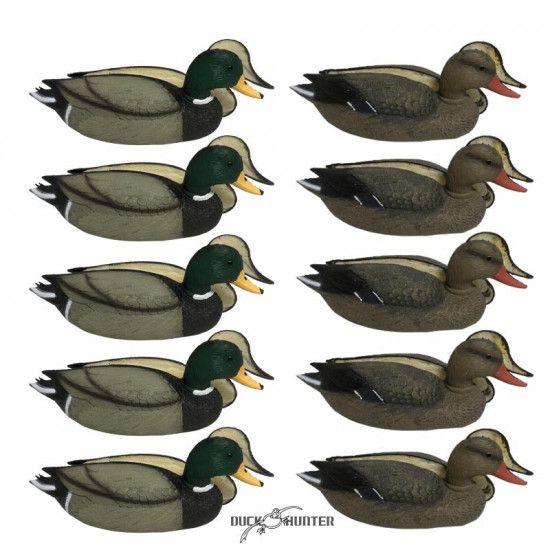 Formes de colvert insubmersibles Duck Hunter x10