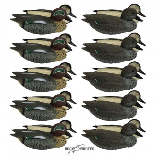 Formes de sarcelle insubmersibles Duck Hunter x10