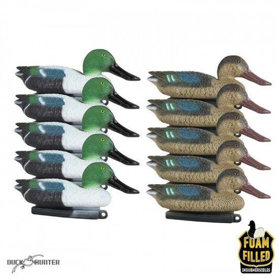 Formes de souchet insubmersibles Duck Hunter x10