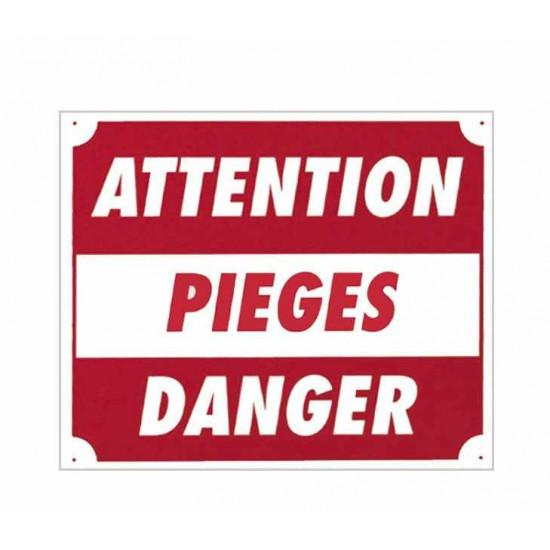 """Panc.Alu """"Attention Pieges Danger"""""""