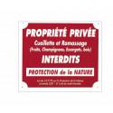 "Panc.Alu ""Prop.Privee Protec Naturelle"""