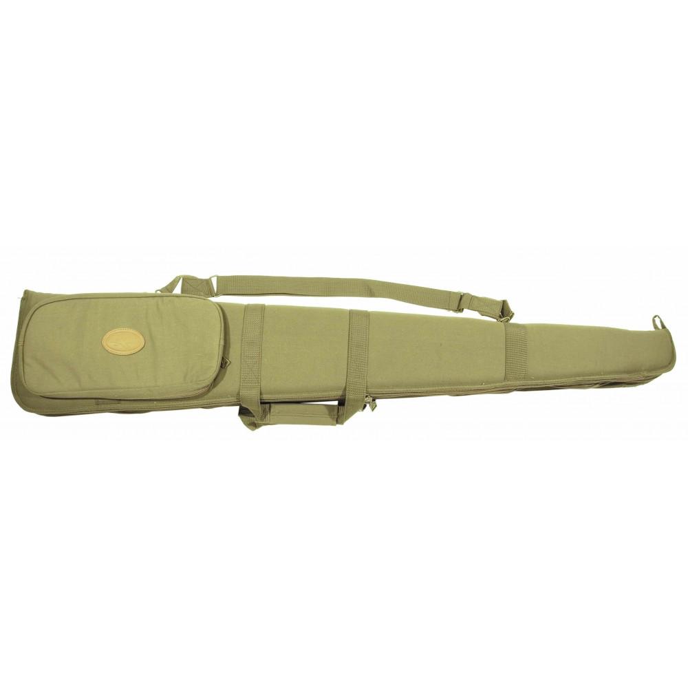 Fourreau « Clever » double fusil en toile verte