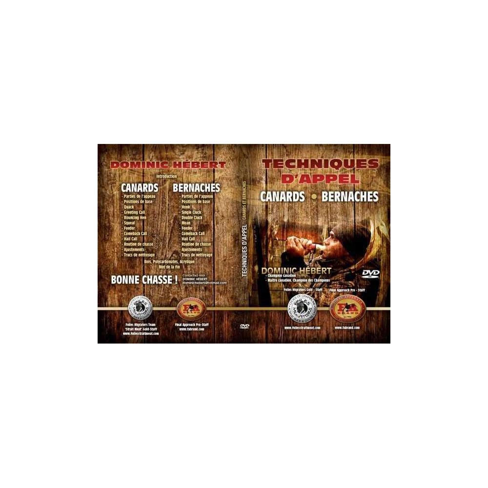 DVD apprentissage des appeaux Dominique Hebert