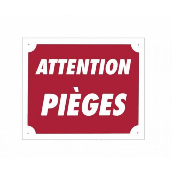 attention pieges